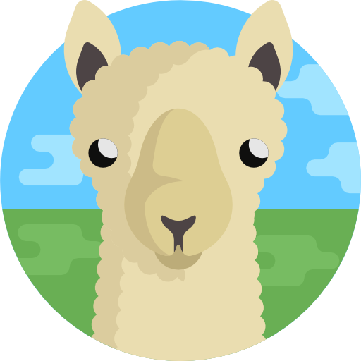 Llama animal vector png. Free animals icons icon