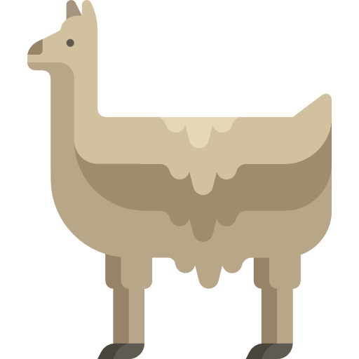 Llama background png. Icon svg