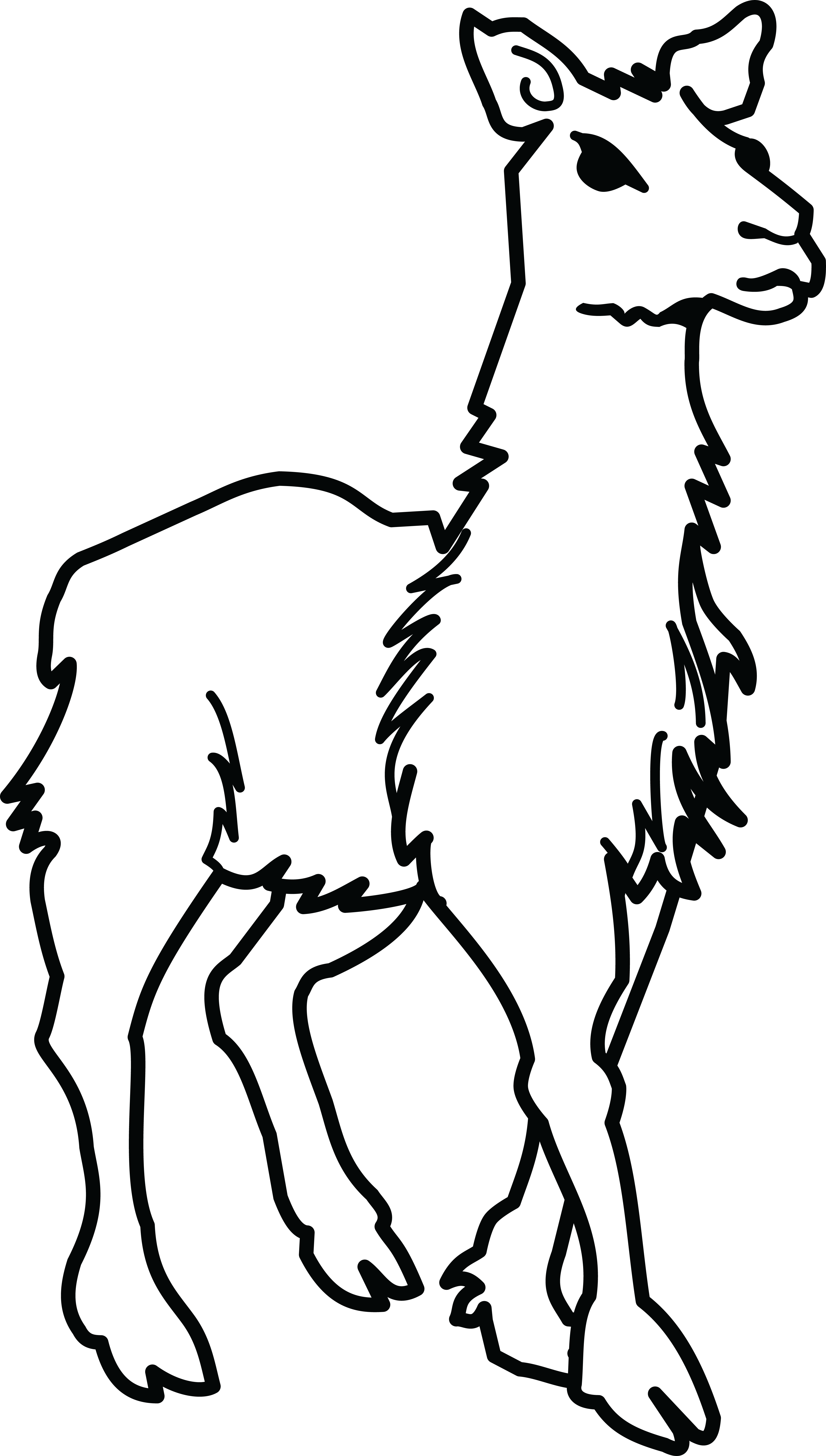 Llama black png clipart. Collection of and