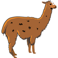 Llama cartoon png. Download category clipart and