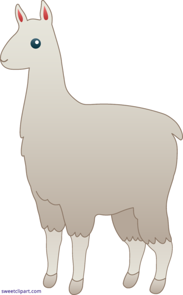 Llama clipart colorful. Free images gallery for