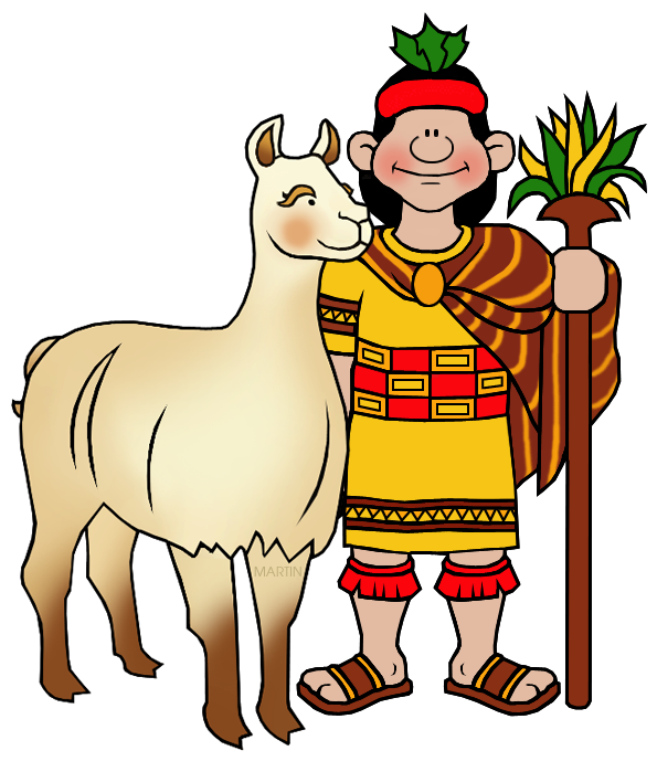 Llama clipart ancient inca. Clip art by phillip