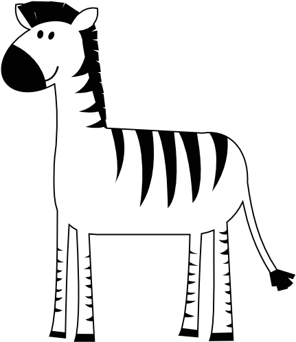 Llama clipart colorful. Download hd animal zebra