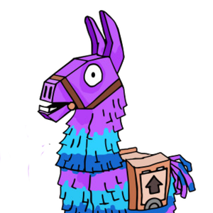 Fortnite clipart llama. Fortnitellamahunter twitch