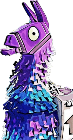 Fortnite clipart llama. Png images in collection