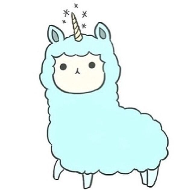 Llama clipart rainbow. Cute pastel wallpaper tumblr