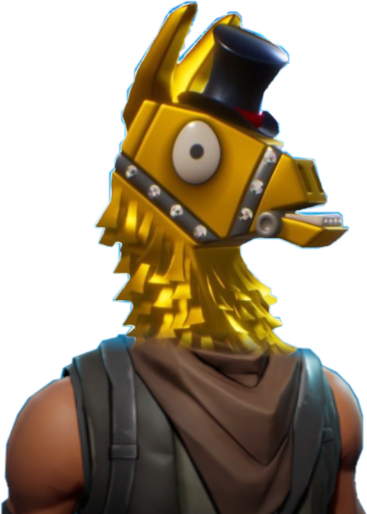 Battle royale epic games. Llama fortnite png clipart transparent library