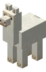 Llama png white. Official minecraft wiki creamy