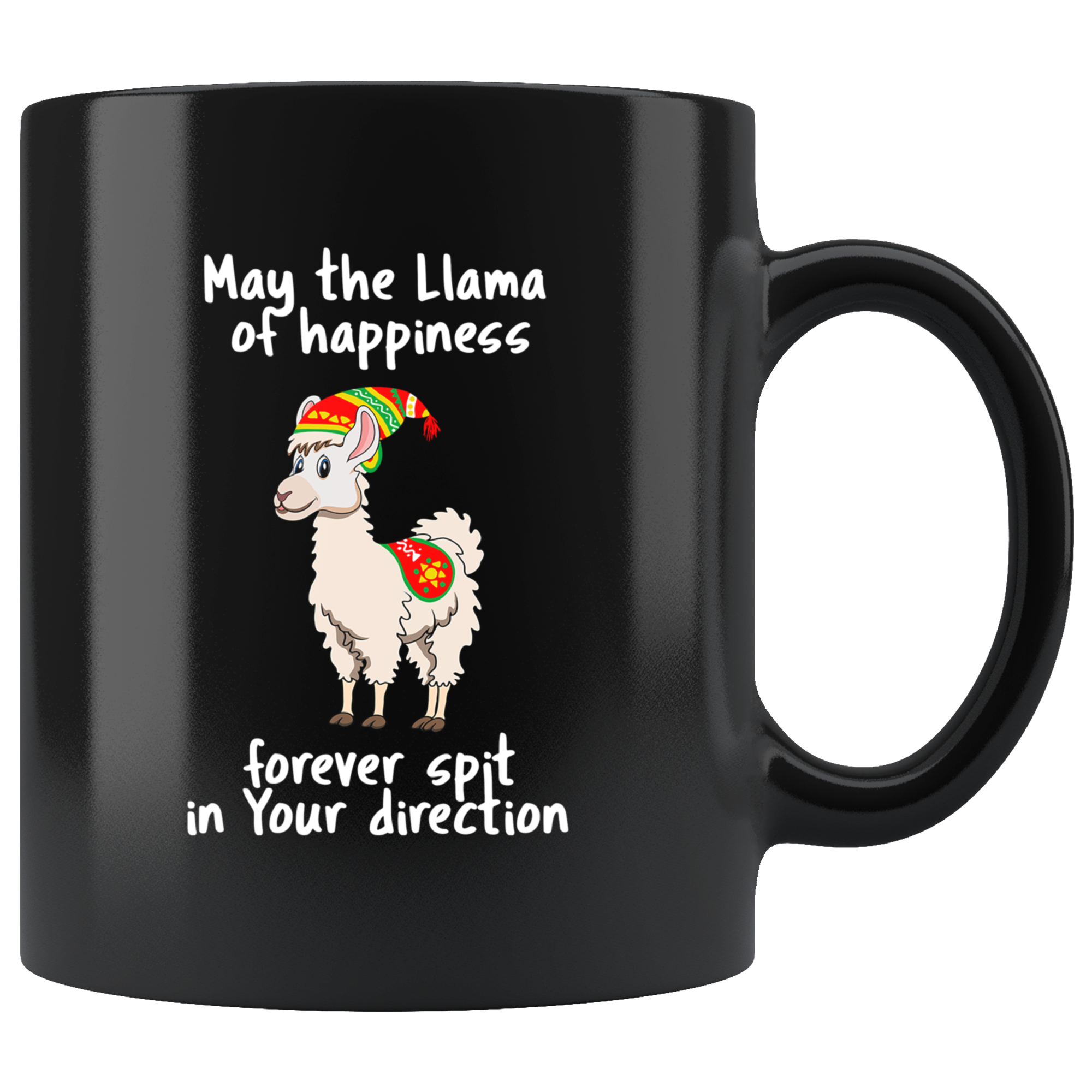 Llama saying png. Spit happens quote in