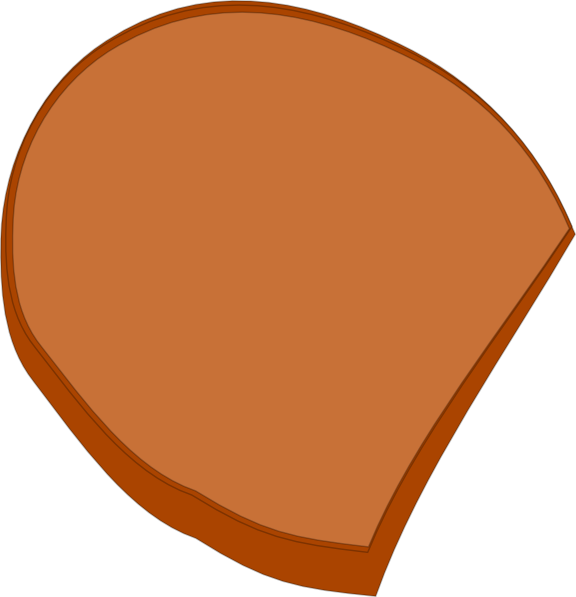 Loaf of clipart. Bread slice clip art