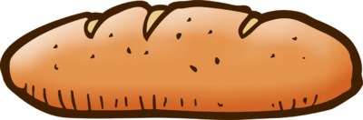 Loaf of clipart. Bread clip art library