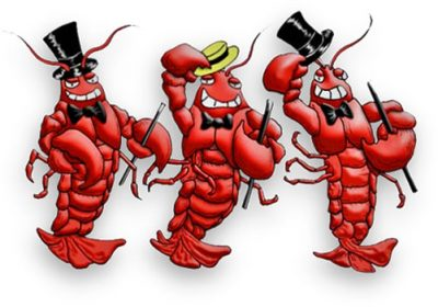 Page clipartaz free collection. Lobster clipart border clip black and white download