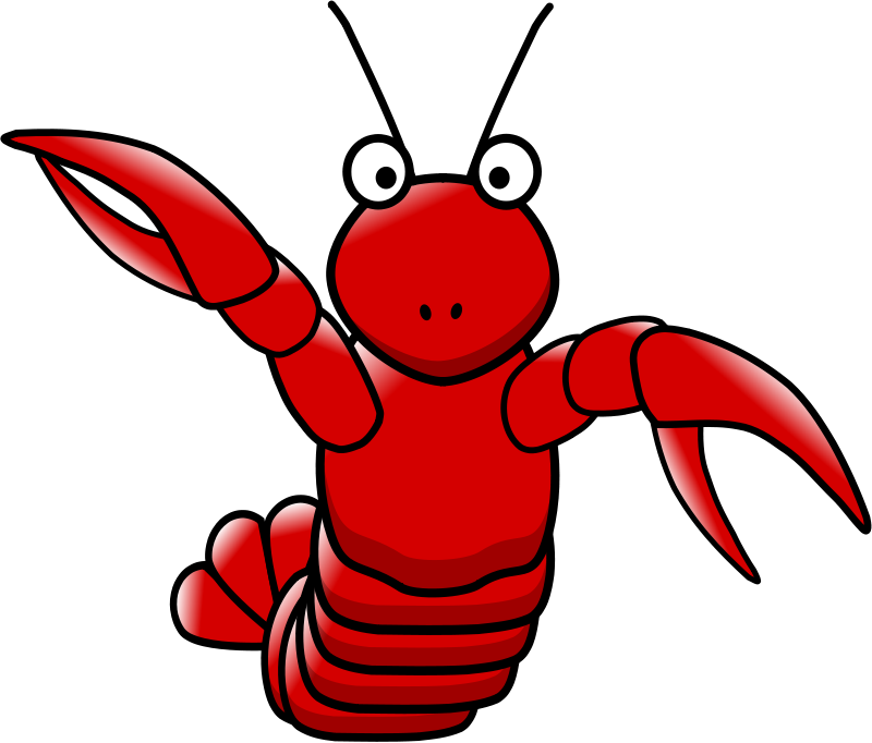 Larry the lobster png. Free cartoon download clip
