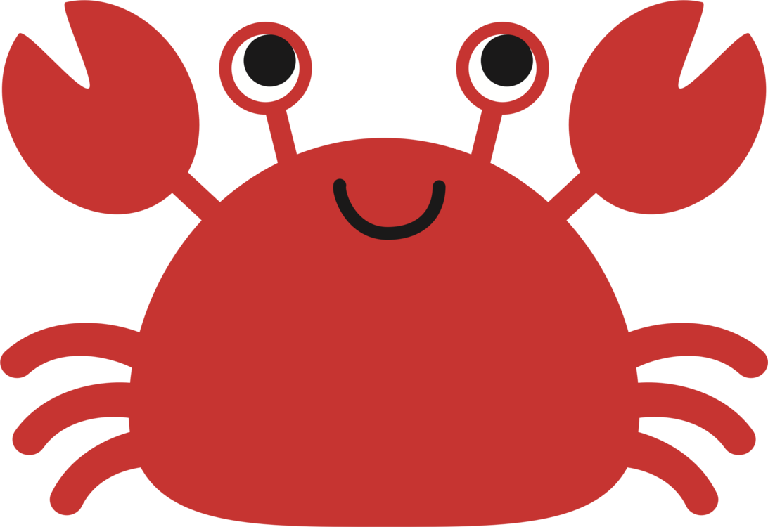 Seafood drawing red crab. Snow crustacean computer icons