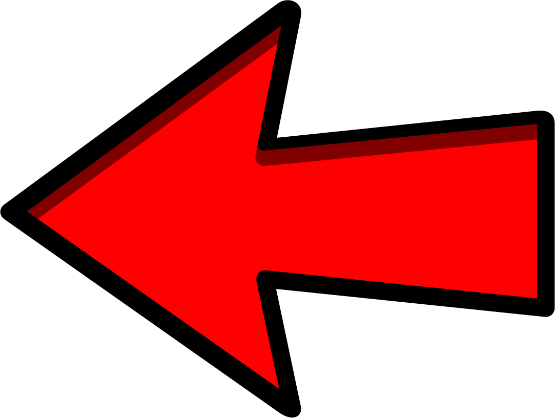 Arrow pointing left png