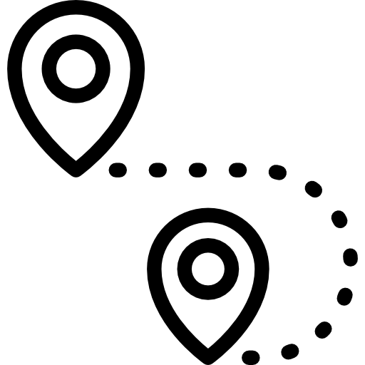 Location clipart route map. Pin position path navigation