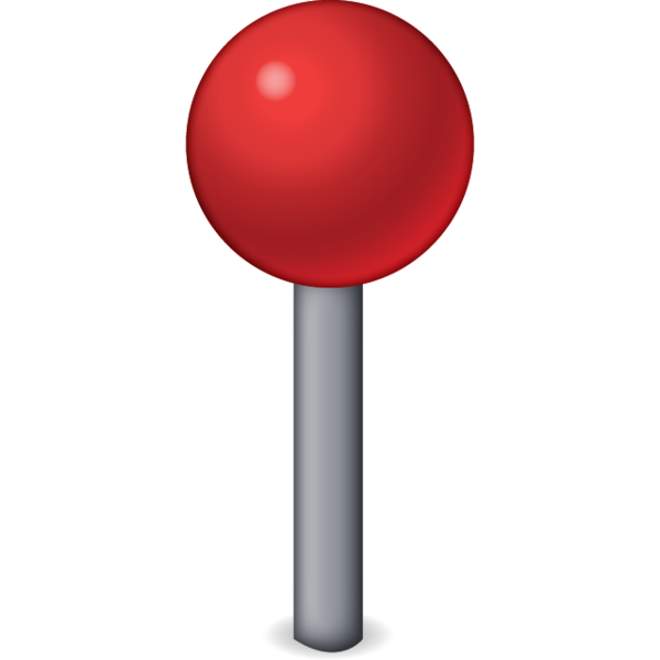 Location emoji png. Download red pin icon