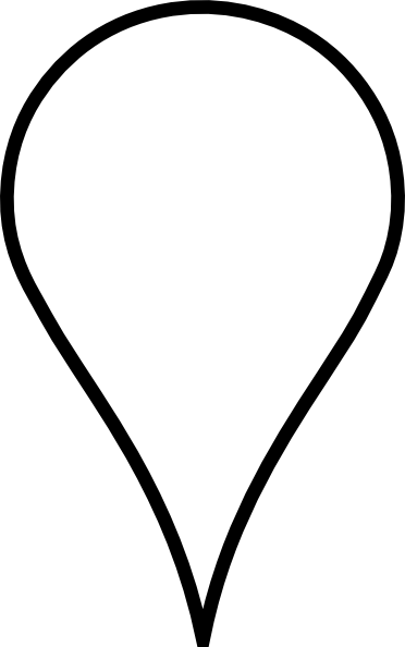 Location Icon White