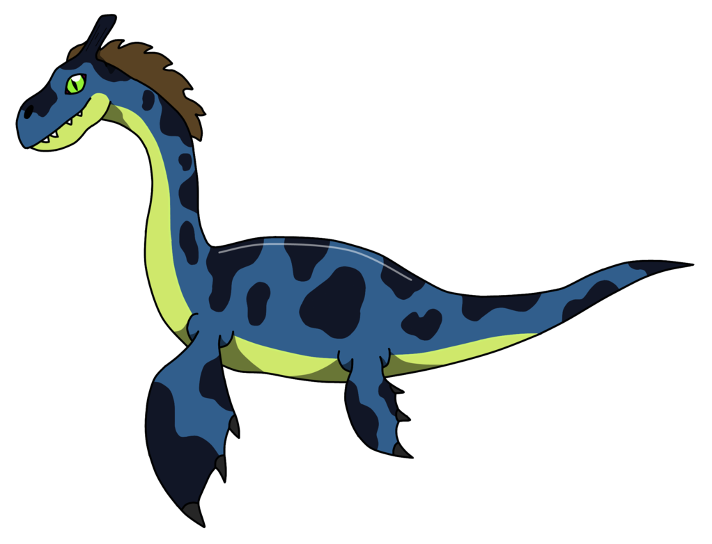 Loch ness monster png. By cryoflaredraco on deviantart