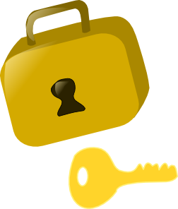 Lock clipart lock and key. Clip art at clker