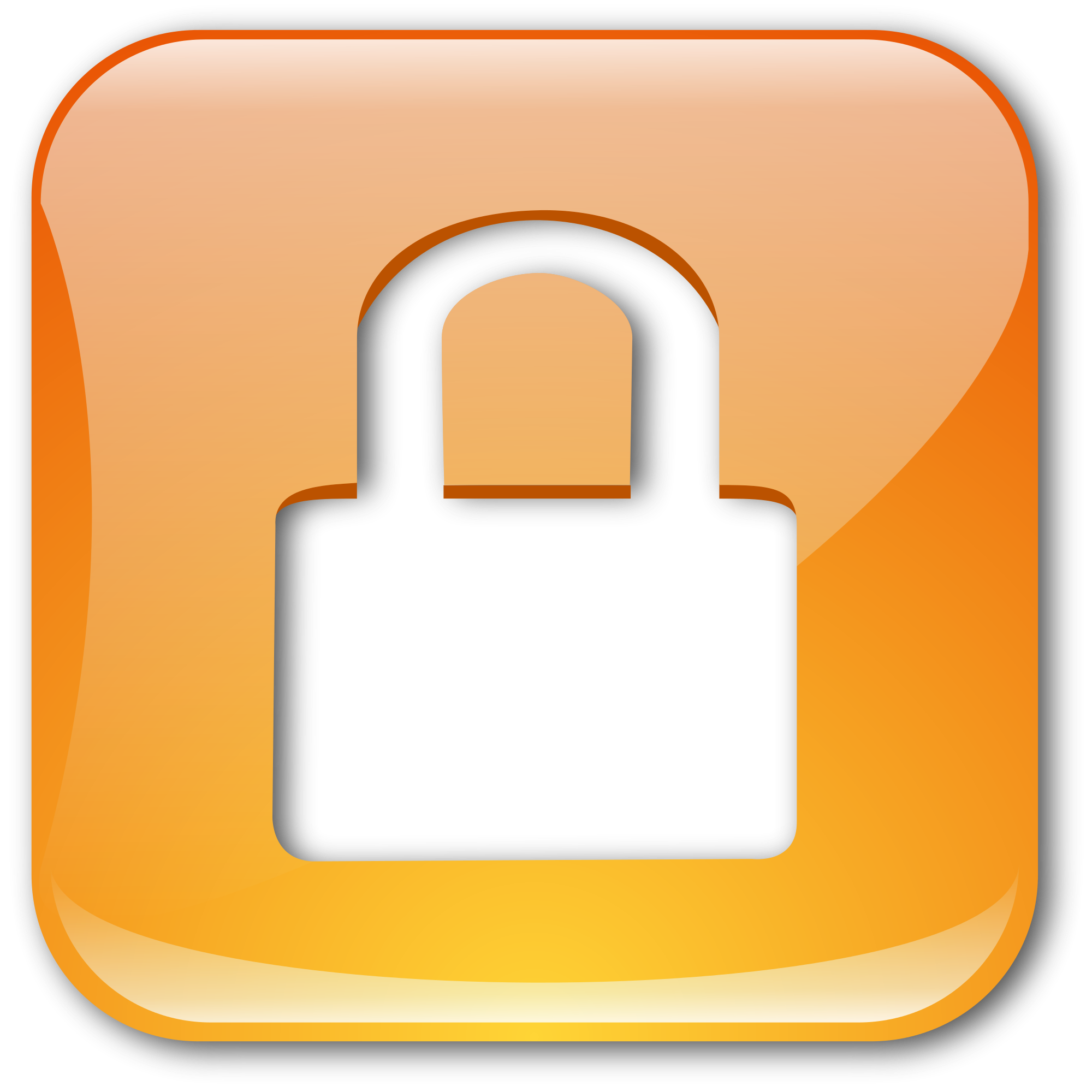 Lock image png. File crystal clear action