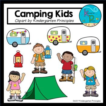 Locker clipart colored. This camping themed set