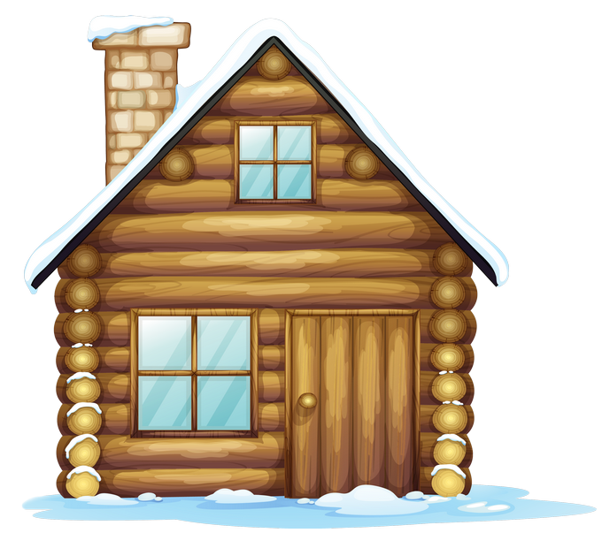 Christmas house png gallery. Cottage clipart winter picture transparent
