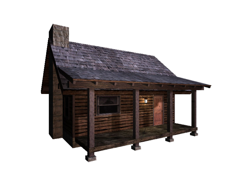 log cabin graphics png