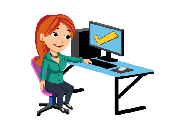 log clipart computer training