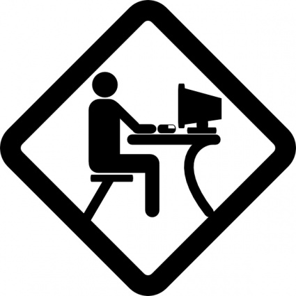 Log clipart computer training. Lab sign panda free