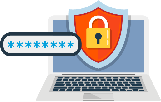 Log clipart password security. Secure and manage passwords