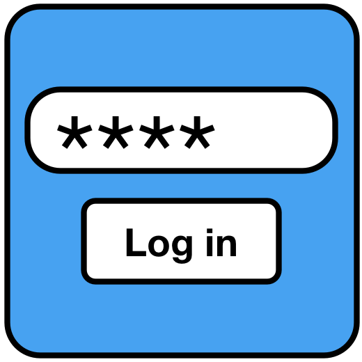 Log clipart password security. Everything you ever wanted