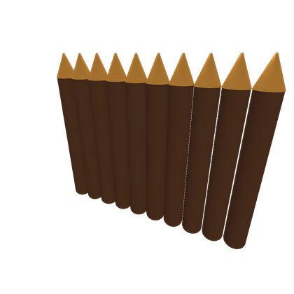 Log wall png. Sharpened logs roblox