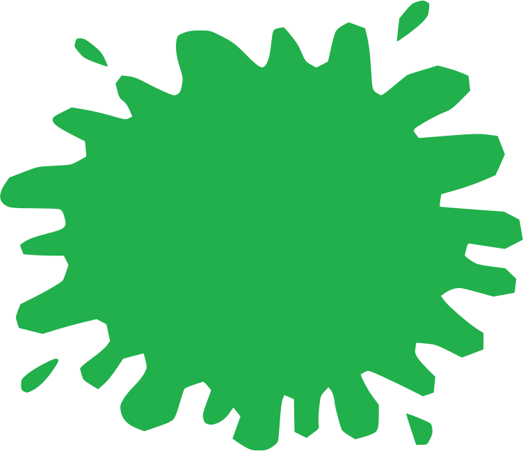 Shapes png. Green splat free icons