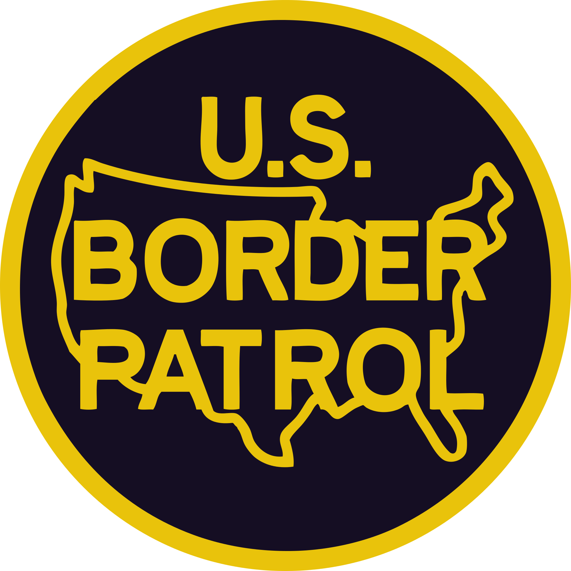 Logo border png. File of the united