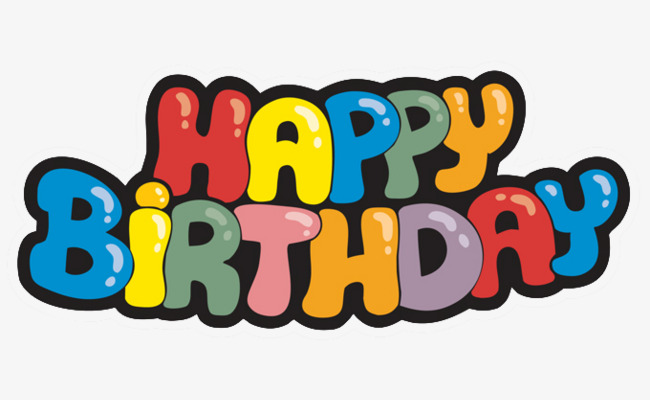 Logo clipart happy birthday. Letter english design png