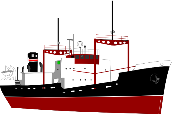 Logo clipart ship. Shipping boat without clip