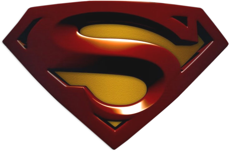 Logo de superman png. D psd official