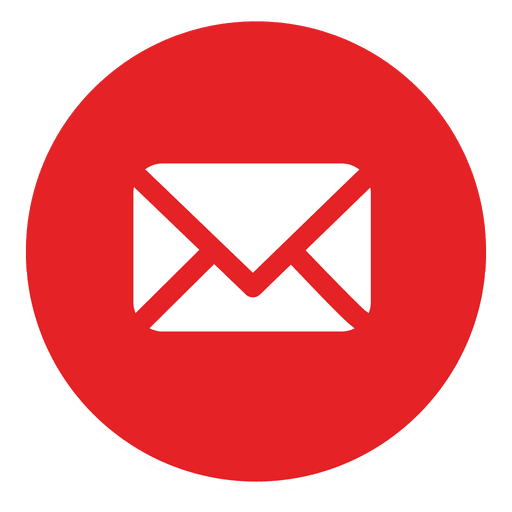 Logo email png. Round icon transparent svg