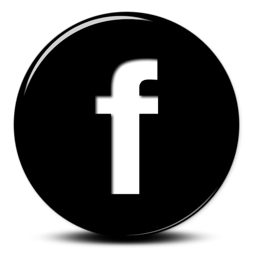 glossy black d. Logo facebook png jpg library library
