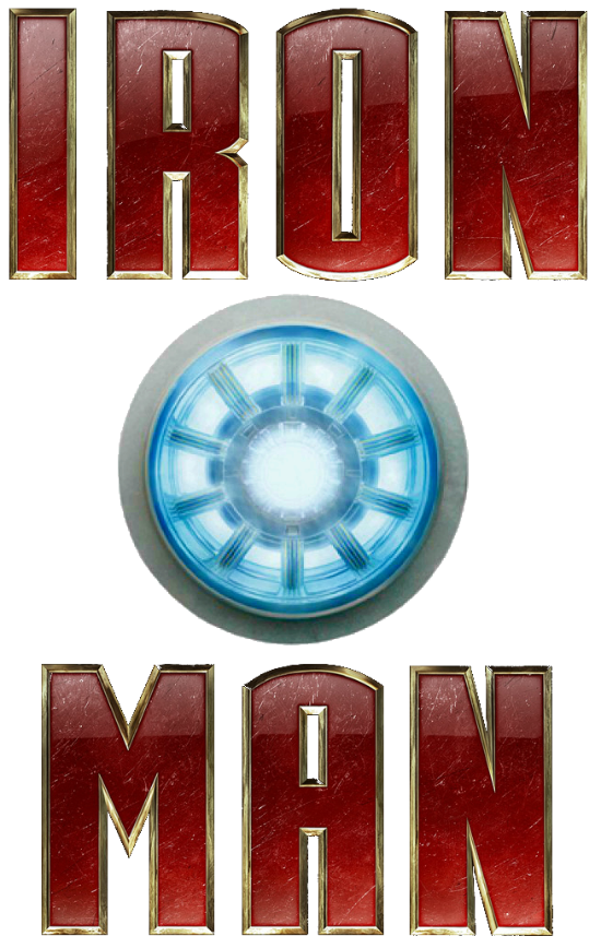 Logo ironman png. Image iron man arc