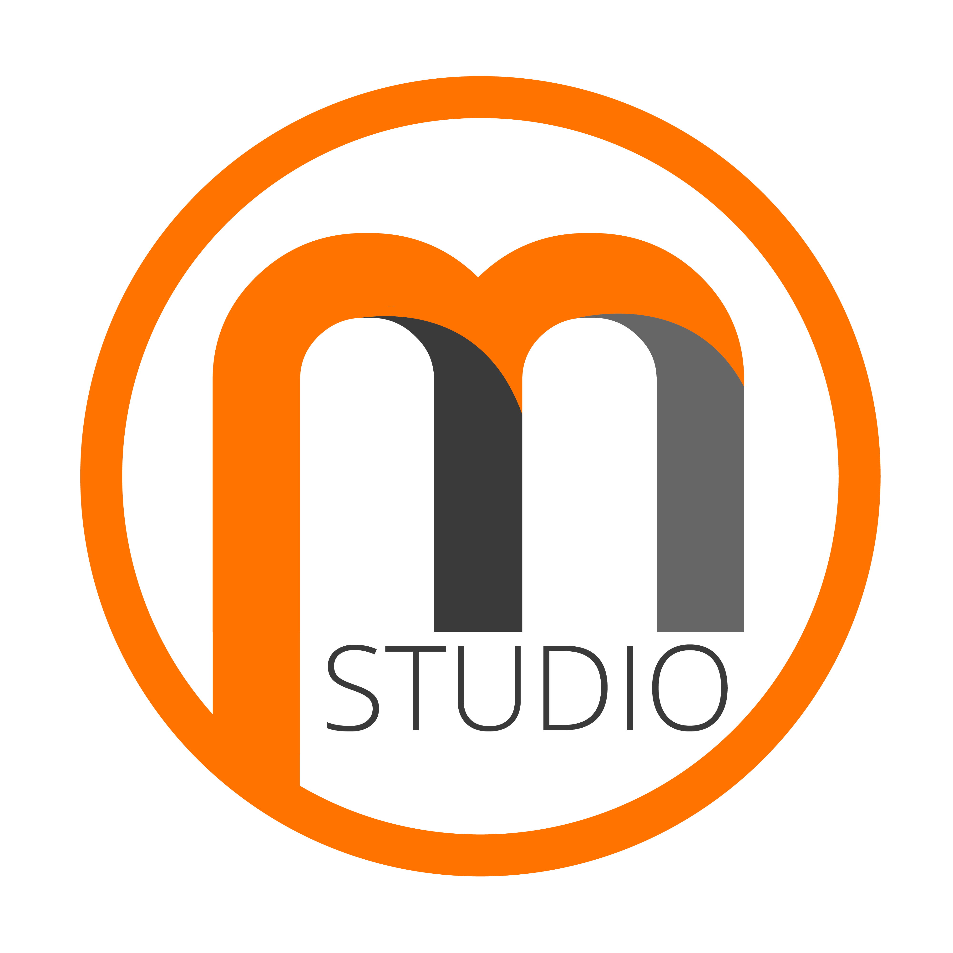 Logo m png. Photography brand photo studio