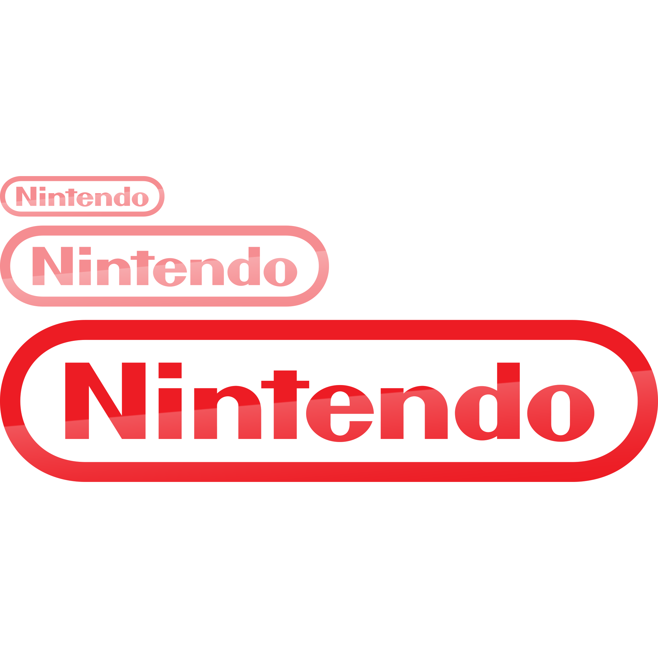 Logo nintendo png. Display signs rose colored