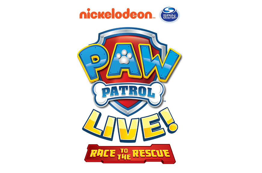 Logo paw patrol png. Giveaway live tickets mama