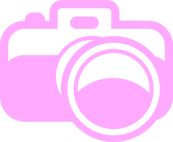 Logo photography camera png. Pink for clip art