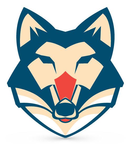 wolf head logo png