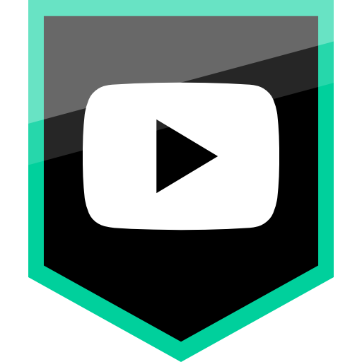 Logo video png. Social media youtube icon