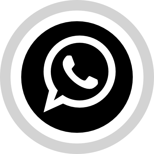 Logo whatsapp png blanco. Social media icon free