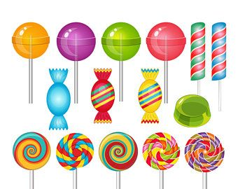 Sweets clipart different candy. The best images on