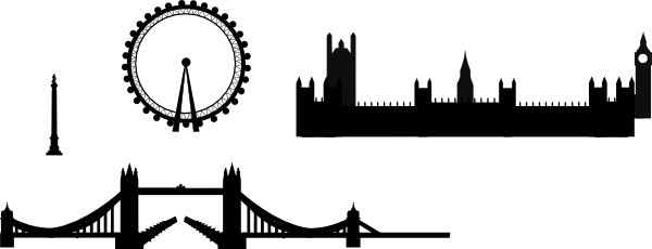 Houston vector clipart. London skyline willy clip